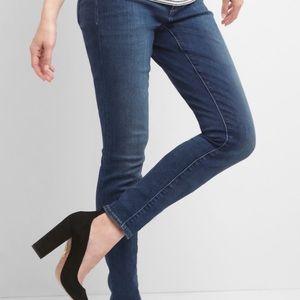 GAP True Skinny Side Panel Maternity Jeans